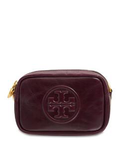 Perry Bombe Glazed Leather Camera Bag