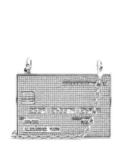 Wangloc Credit Card Rhinestone Minaudière bag