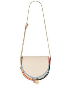WOMEN'S SBMPN09NO1LV520ZN99N BLACK LEATHER SHOULDER BAG