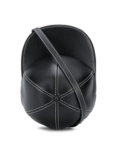 Shoulder Bag In Green Leather