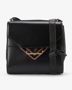 The Clip medium leather shoulder bag