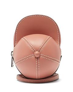 Cap nano leather cross-body bag