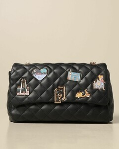 bag in quilted synthetic leather