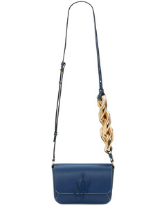 Midi Anchor Chain Leather Bag