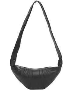 Small Croissant Leather Shoulder Bag
