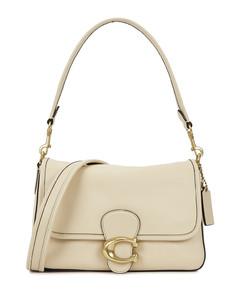 Tabby ivory leather shoulder bag