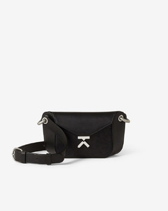 K leather belt bag