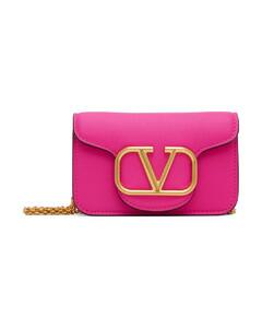 Kan I FF-logo leather bag