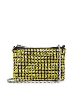 Heiress Nano Pouch Bag in Yellow