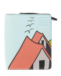 Compact Zip Wallet La Palme