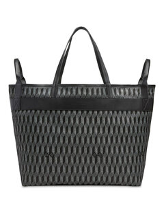 Kan I F logo leather bag