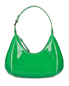 Skull quilted leather mini clutch bag