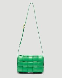 Padded Cassette Bag in Green