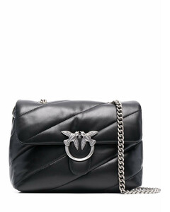 Women's Quilted Camera Bag - Black
