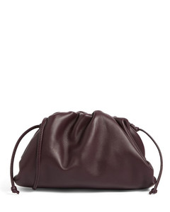 The Mini Leather Pouch Bag