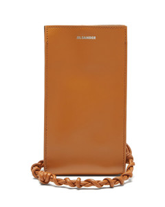Tangle leather phone case