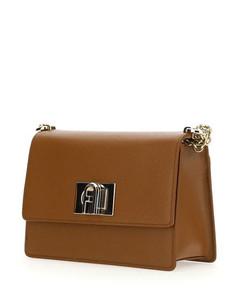 Grace Cube crystal-embellished leather handbag