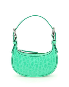 crossbody bag in textured leather