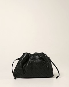 Becky black leather wallet-on-chain
