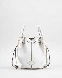 Women's Aoz Micro Bucket Bag - White