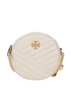 Kira Chevron quilted leather crossbody
