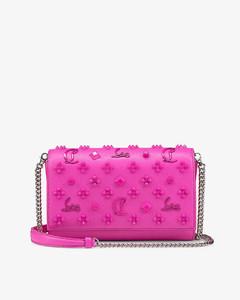 WOMEN'S SBMPN09NO3LV583Z087N PINK LEATHER SHOULDER BAG
