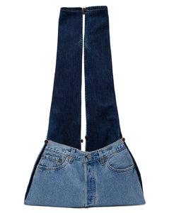 Black matelasséNappa leather cross-body bag
