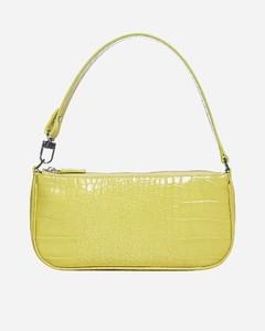 Rachel crocodile-effect leather bag