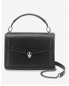 【千瑞珍同款】Serpenti Diamond Blast quilted leather shoulder bag