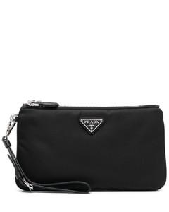 Women's Recycled Phone Holder Cross Body Bag - Black