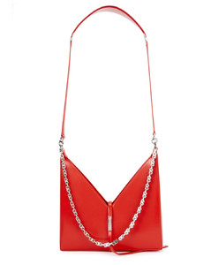Cut Out small leather shoulder bag