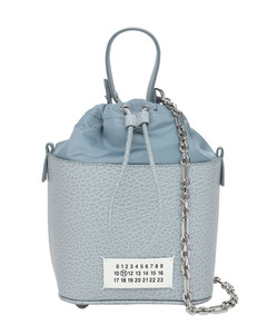 Grained Leather 5ac Bucket Bag