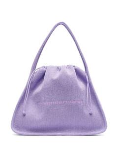 Halfmoon Fossette Fanny Cross Bag Black
