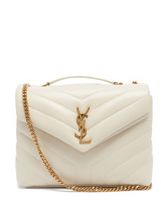Loulou small quilted leather shoulder bag