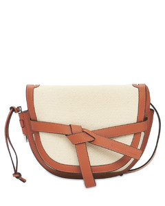Canvas & Leather Gate Small Bag