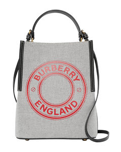 Small Cotton Peggy Bucket Bag