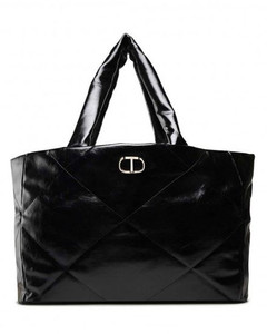 backpack in black fabric
