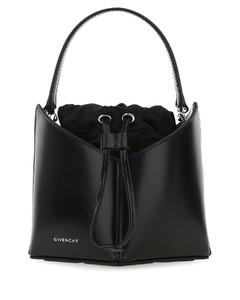 Antigona nano mustard leather cross-body bag