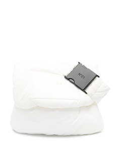 The Shell Small Leather Shoulder Bag
