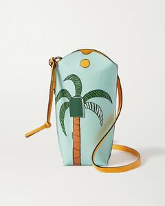 Ken Price La Palme Gate Pocket Leather Shoulder Bag