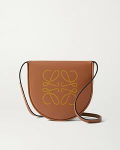 Heel Mini Leather Shoulder Bag