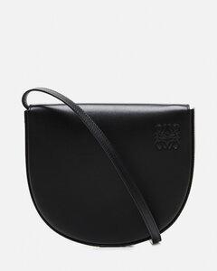 Heel Mini Shoulder Bag in smooth leather