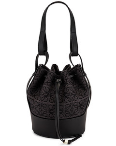 Balloon Anagram Small Bag in Black