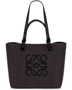 Anagram Tote Small Bag in Black