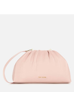 Women's Dorieen Mini Gathered Slouchy Clutch Bag - Pl-Pink