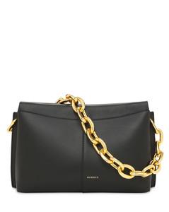 Carly Mini Heavy Chain Leather Bag