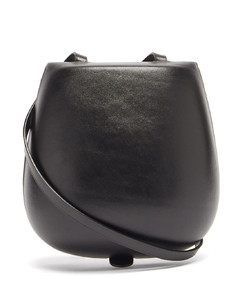 Tacco patent-leather cross-body bag