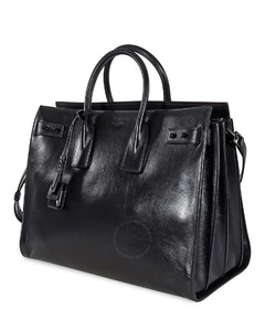 Large Sac De Jour Bag In Black