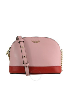 Ladies Spencer Small Dome Leather Crossbody