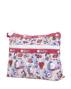Ladies Multicolor Cosmetic Clutch Bag